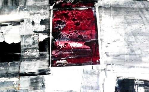 Bloody present - L100xH75