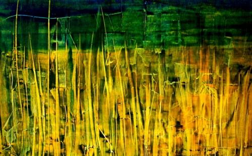 Foret arbres jaunes - L75xH60