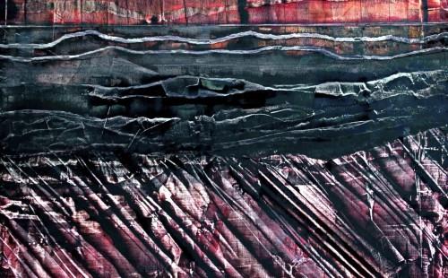 Le lac de pétrole - L70xH80