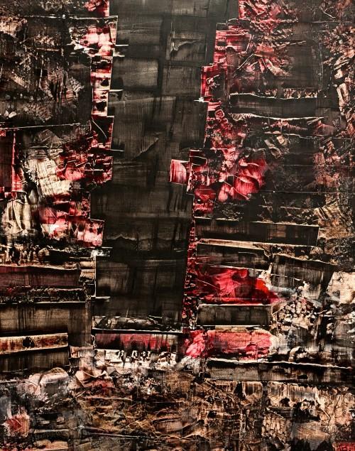 perrotin-peintures-Black Block-L115xH90