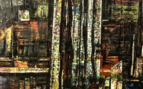 Cathédrale de verre - L70xH100