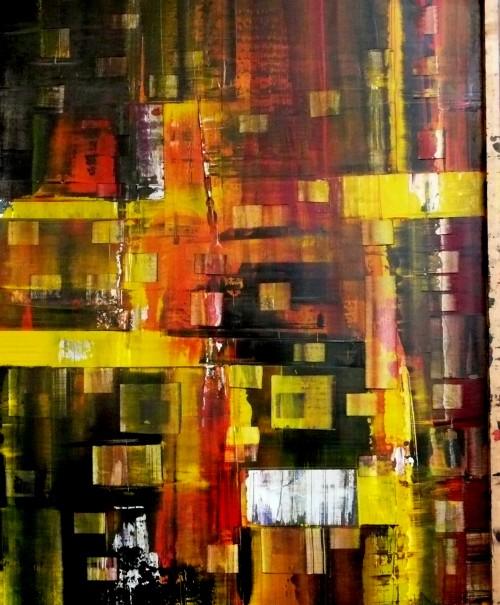perrotin-peintures-Fête rouge-L90xH80