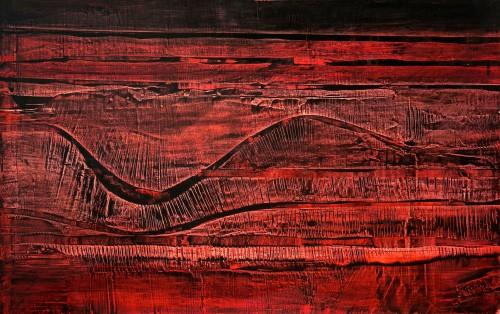 perrotin-peintures-Fleuve noir-L120xH75