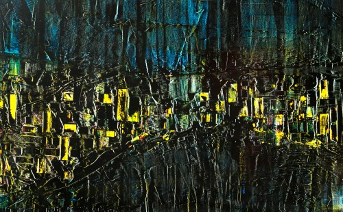 Le marché de nuit - 115xH65