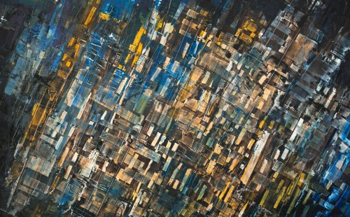 Le plafond de verre - L100xH130