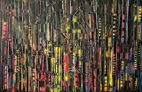 perrotin-peintures-Les néons-L123xH82