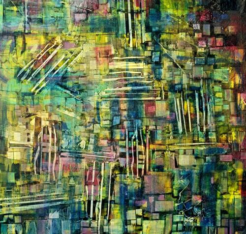 perrotin-peintures-Les tapis-L90xH95