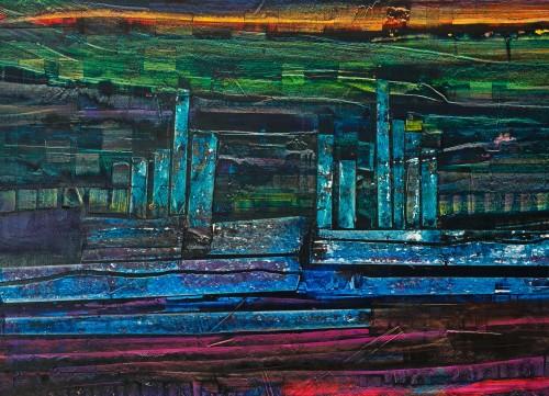 perrotin-peintures-Les tours de verre-L93xH68