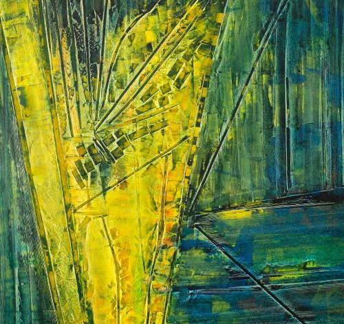 perrotin-peintures-Village entre deux fleuves-L83xH90
