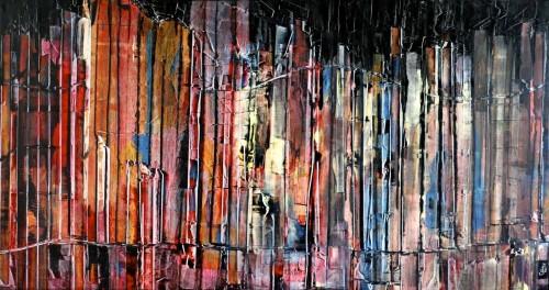 perrotin-peintures-Ville lumiere-L110xH60
